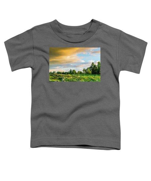 Golden Clouds Toddler T-Shirt
