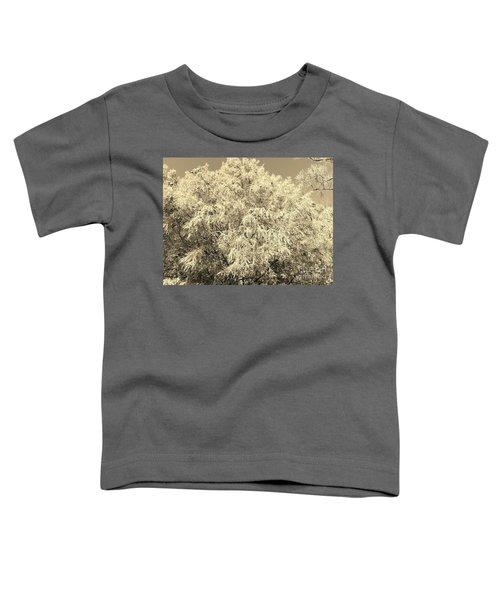 Golden Cypress - Sepia Toddler T-Shirt