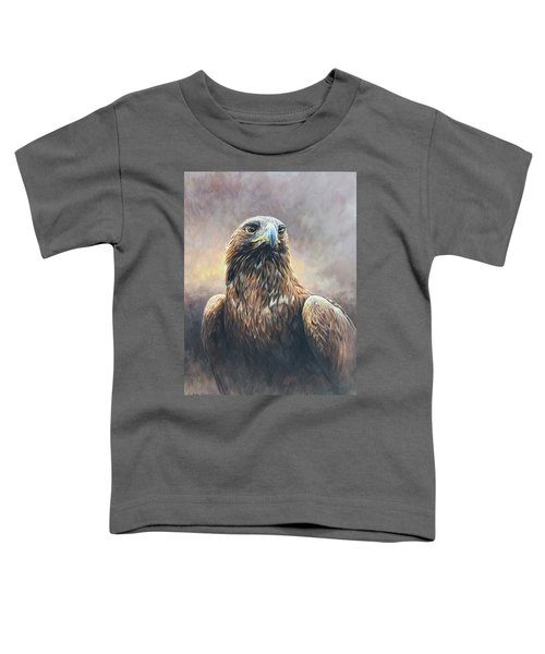 Golden Eagle Portrait Toddler T-Shirt