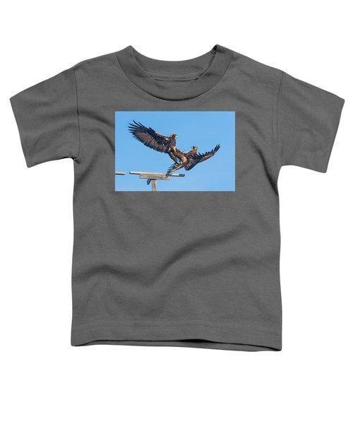 Golden Eagle Courtship Toddler T-Shirt