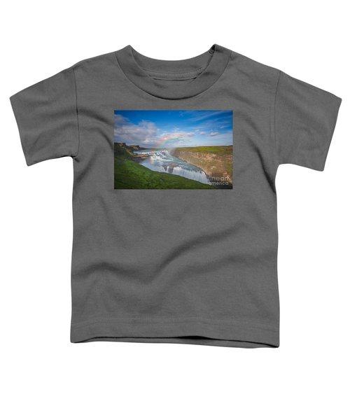 Golden Falls, Gullfoss Iceland Toddler T-Shirt