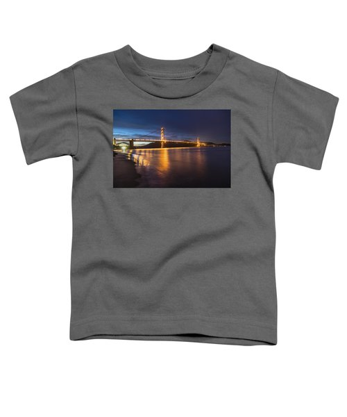 Golden Gate Blue Hour Toddler T-Shirt