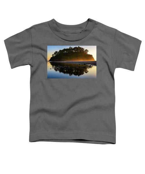 Golden Hour Haze At Proposal Rock Toddler T-Shirt