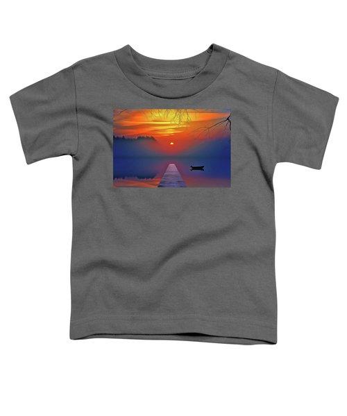 Golden Lake Toddler T-Shirt