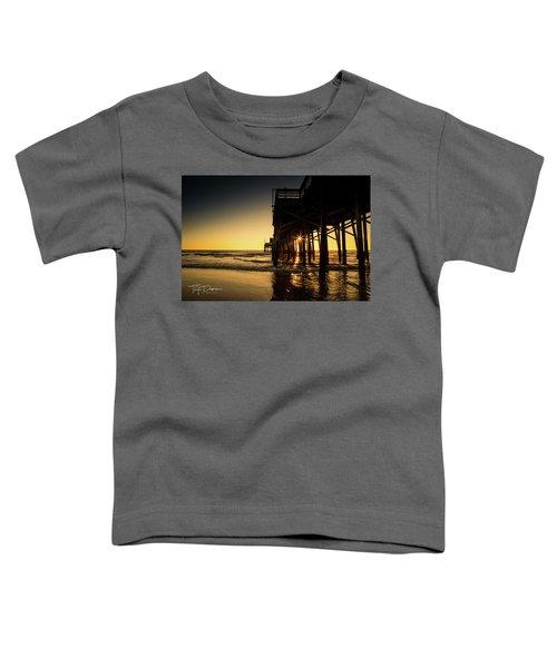 Golden Pier  Toddler T-Shirt