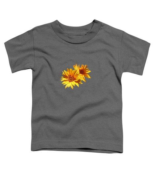 Golden Sunflowers Toddler T-Shirt