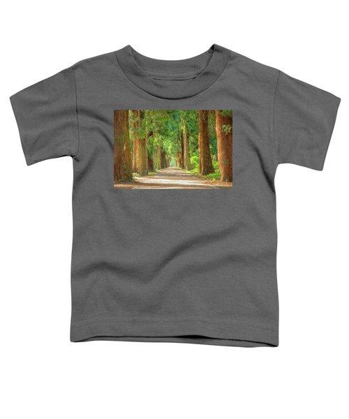 Golden Tree Avenue 2 Toddler T-Shirt