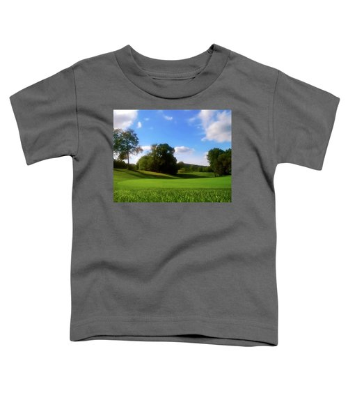 Golf Course Landscape Toddler T-Shirt