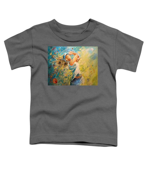 Golf Passion Toddler T-Shirt
