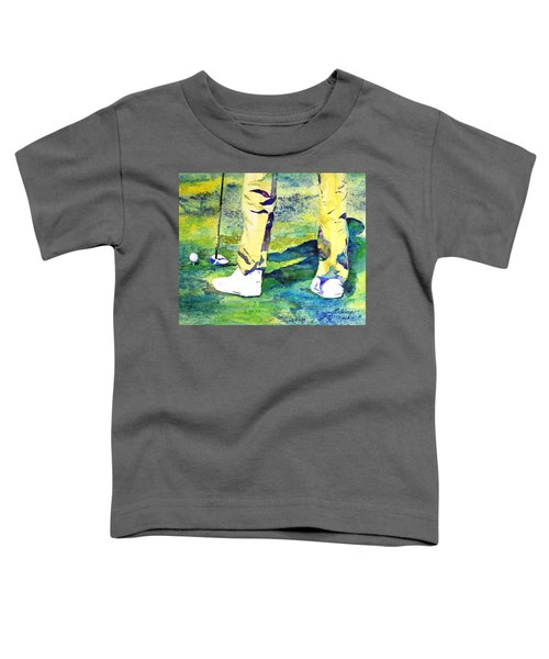 Golf Series - High Hopes Toddler T-Shirt