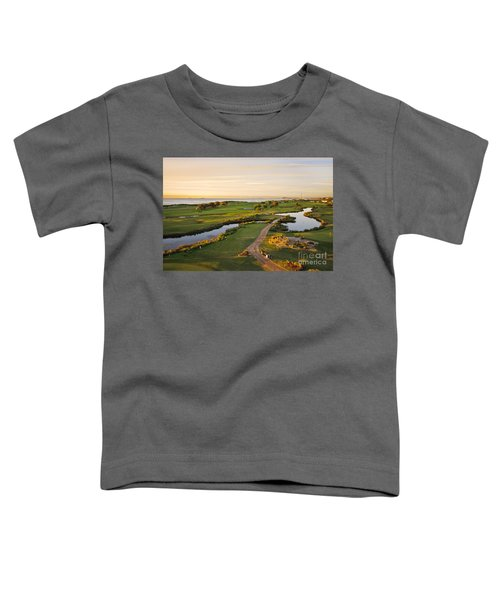 Golfing At The Gong II Toddler T-Shirt