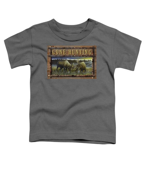 Gone Hunting - Locked At Lac Seul Toddler T-Shirt