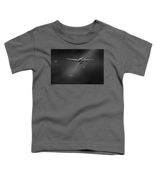 Goner From Dambuster J-johnny Bw Version Toddler T-Shirt by Gary Eason