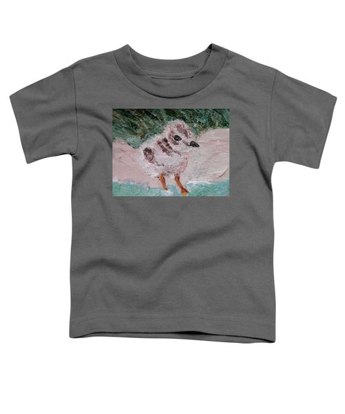 Good Harbor Piping Plover Chick #1 Toddler T-Shirt