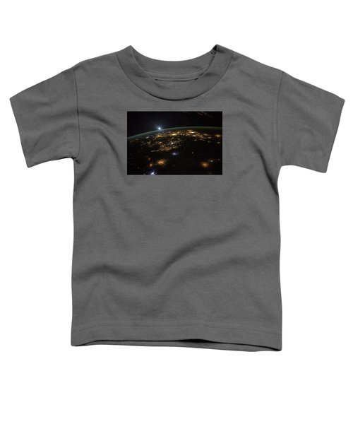 Good Morning From The International Space Station Toddler T-Shirt