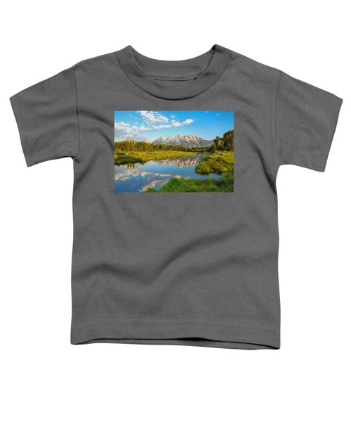 Good Morning Tetons Toddler T-Shirt