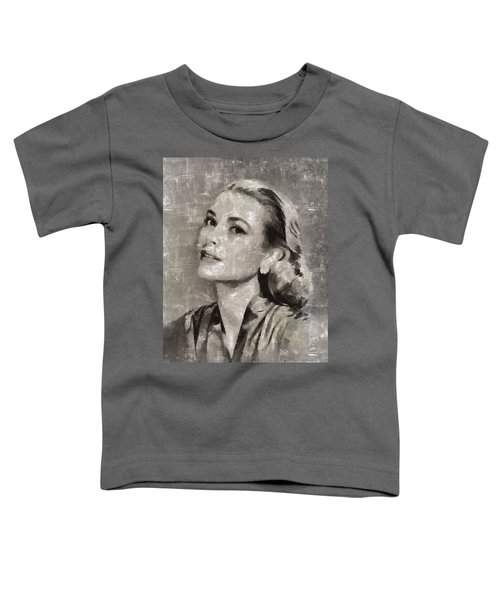 Grace Kelly By Mary Bassett Toddler T-Shirt