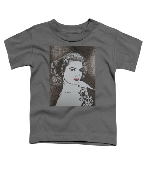 Grace Toddler T-Shirt by Lynet McDonald