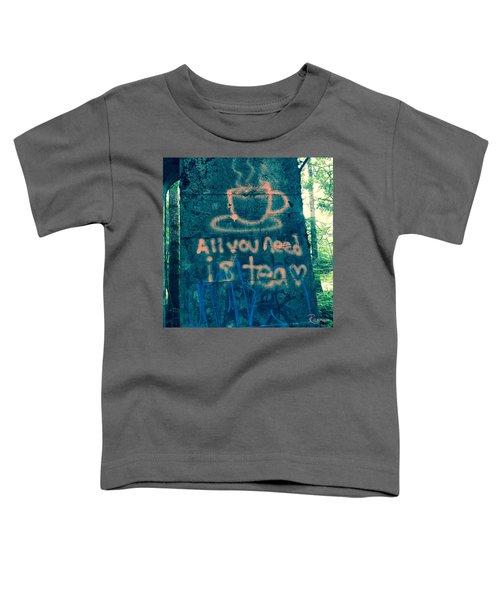 Graffitea Time Toddler T-Shirt