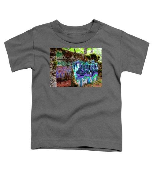 Graffiti Illusion Toddler T-Shirt