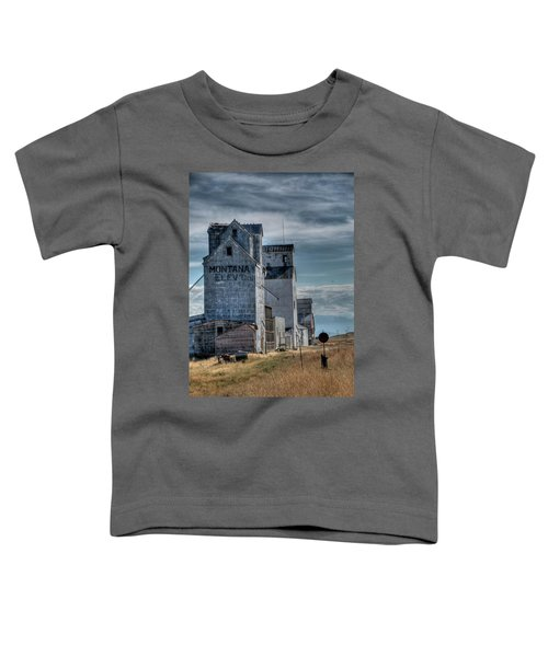 Grain Elevators, Wilsall Toddler T-Shirt
