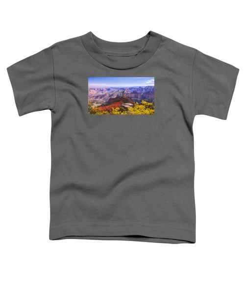 Grand Arizona Toddler T-Shirt by Chad Dutson