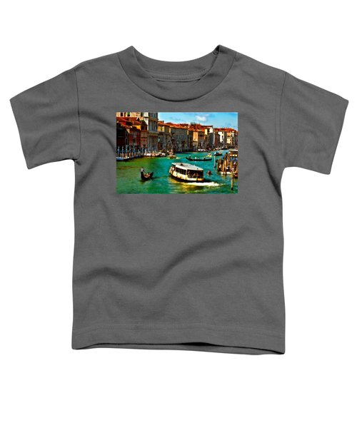 Grand Canal Daytime Toddler T-Shirt