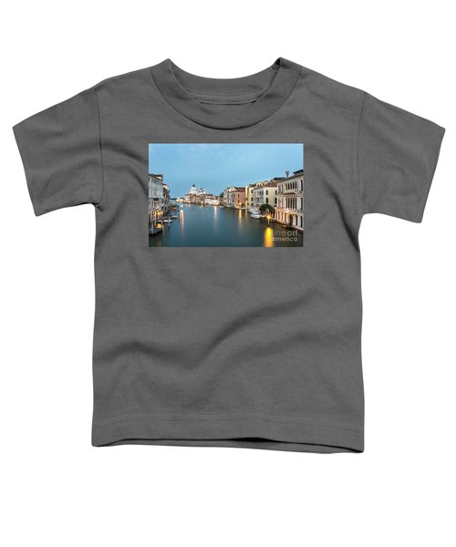 Grand Canal In Venice, Italy Toddler T-Shirt