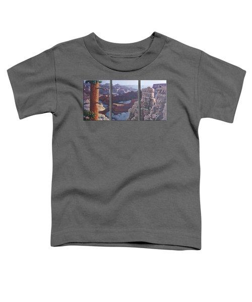 Grand Canyon Dawn Toddler T-Shirt by Jim Thomas