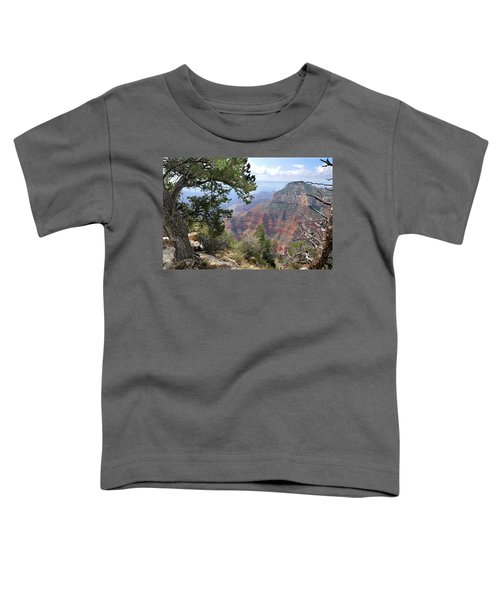 Grand Canyon North Rim - Through The Trees Toddler T-Shirt