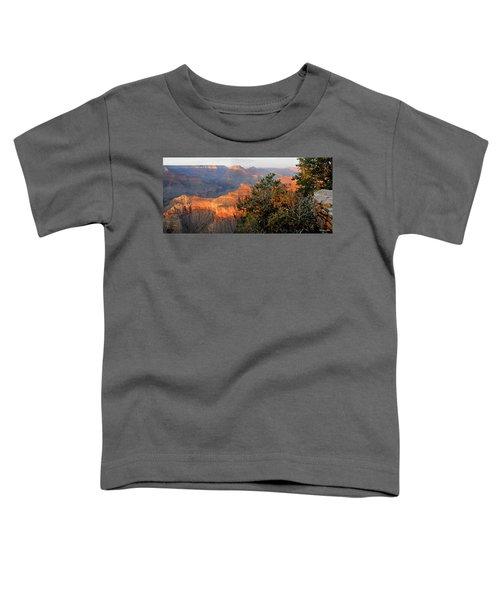 Grand Canyon South Rim - Red Berry Bush Along Path Toddler T-Shirt