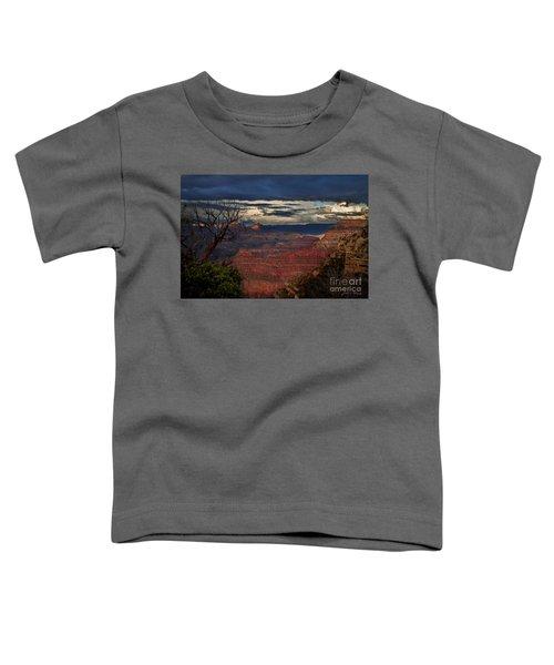 Grand Canyon Storm Clouds Toddler T-Shirt