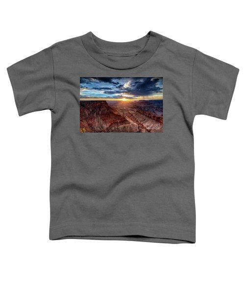 Grand Canyon Sunburst Toddler T-Shirt
