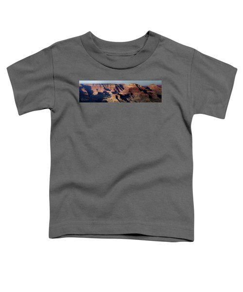 Grand Canyon Wide Toddler T-Shirt