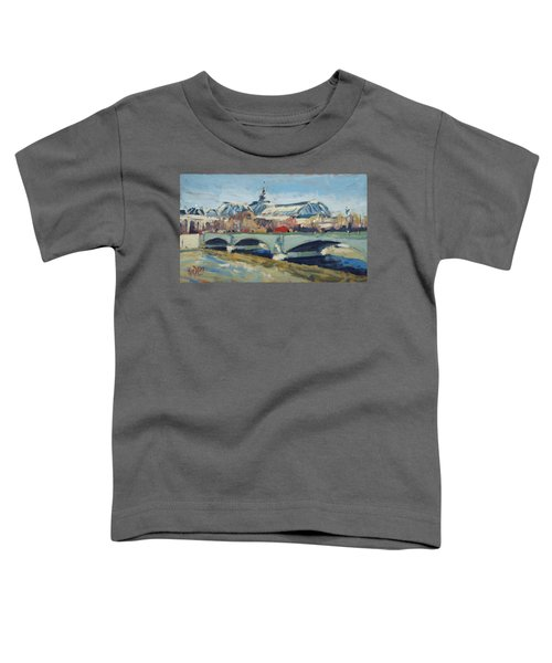 Grand Palace In Winter Paris Toddler T-Shirt