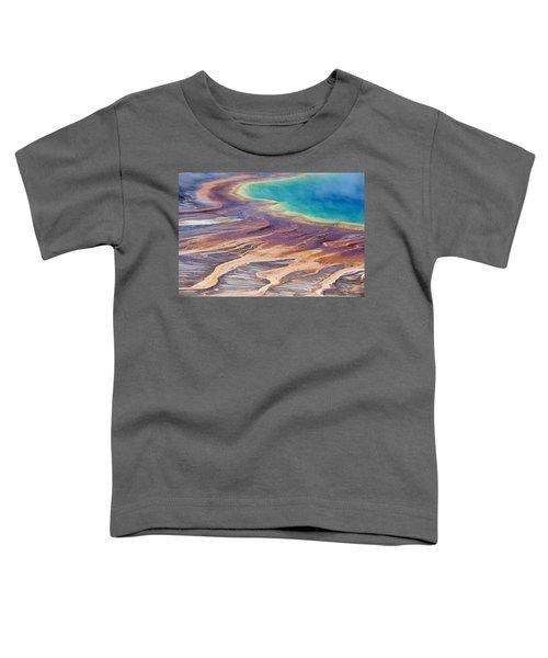 Grand Prismatic Spring 2 Toddler T-Shirt