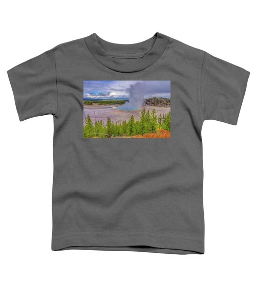 Grand Prismatic Spring Overlook Yellowstone Toddler T-Shirt