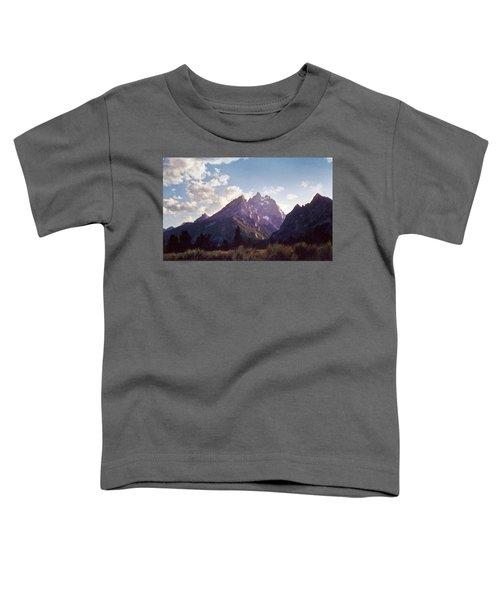 Grand Teton Toddler T-Shirt by Scott Norris