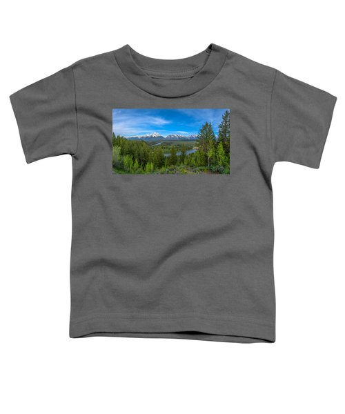 Grand Teton Vista Toddler T-Shirt