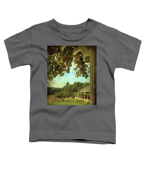 Grapes On Arbor  Toddler T-Shirt