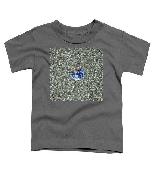 Gray Space Toddler T-Shirt