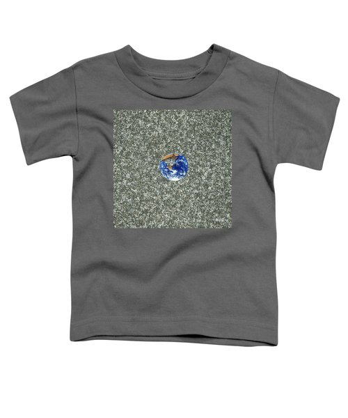 Gray Space Toddler T-Shirt