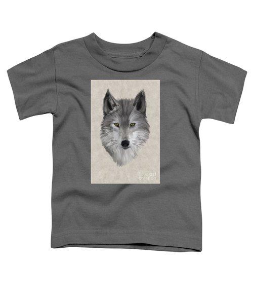 Gray Wolf Toddler T-Shirt
