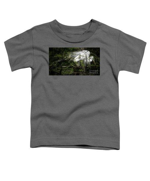 Great Egret #2 Toddler T-Shirt