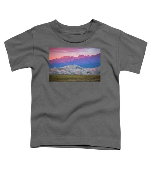 Toddler T-Shirt featuring the photograph Great Sand Dunes Colorado 3 by Whit Richardson