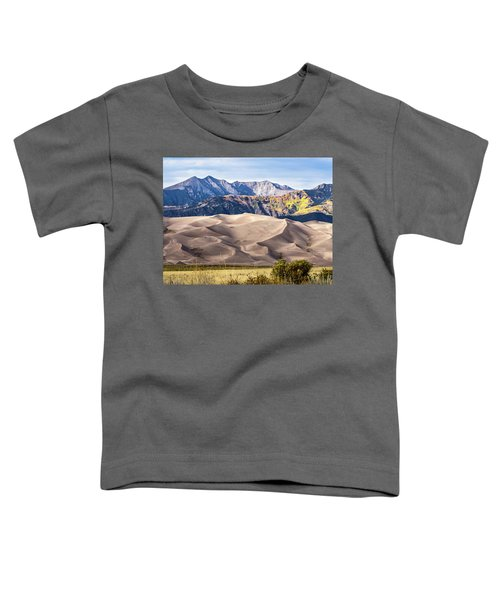 Great Sand Dunes Of Southern Colorado Toddler T-Shirt