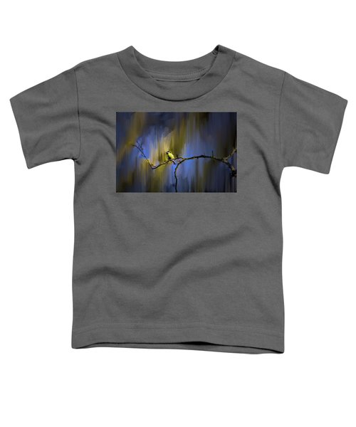 Great Tit On Branch #h3 Toddler T-Shirt