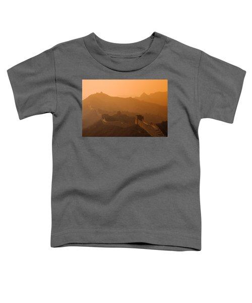 Great Wall Of China Toddler T-Shirt