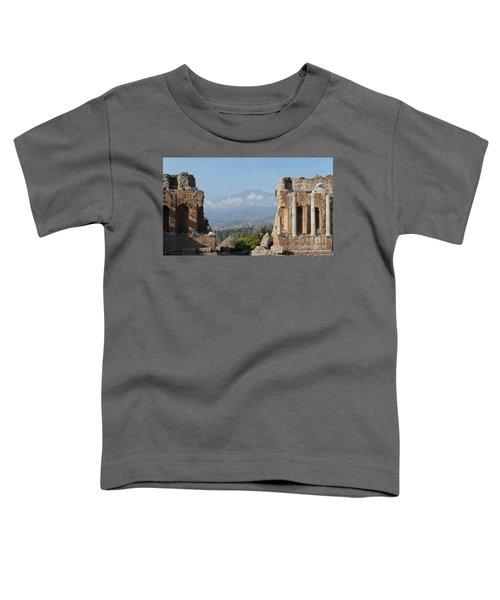 Greek Theatre Taormina Toddler T-Shirt