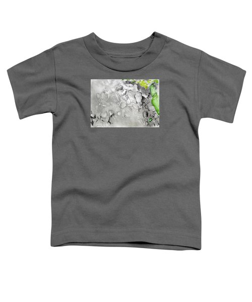 Green And Gray Stones Toddler T-Shirt